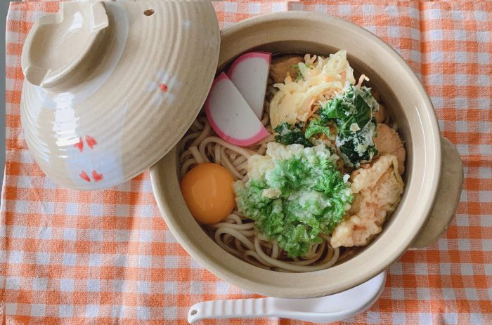 ☆下川産雪の華舞(ゆきのはなまい)使用鍋焼きうどん☆
